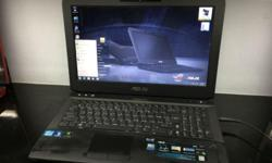 Pre-owned Gaming Notebook Asus G53 Selling @ $ 599