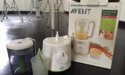 Pre Loved Avent Combined Steamer and Blender @ $100!
