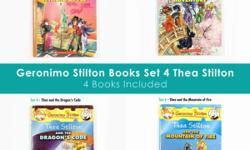 Pre owned Geronimo Stilton Set 4 Thea Stilton with 4
