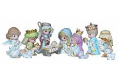 Mini nativity set is the perfect size for any location