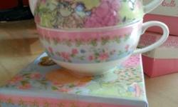 Brand new teapot teacup set. Cash & carry only. Non