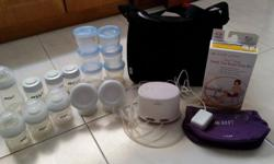 Preloved Avent Comfort Double electric breast pump (US
