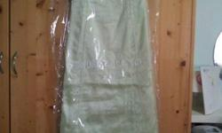 Wore only once evening dresses for sale! Light green