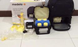 Great condition medela PISA.. Comes with full set