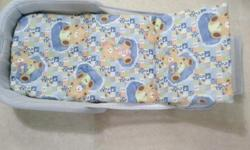 Preloved portable Baby bedrest. Can change diaper on it