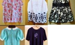 Preloved Women's Blouse and Skirt Assorted Designs!