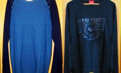 Preowned Men;s LONG SLEEVED TShirts Assorted Designs
