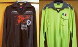!Preowned Men's LONG SLEEVED TShirts! Assorted Designs