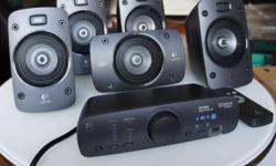Logitech Z906 speakers for sale, its a powerful 7.1