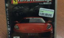 PS3 Game Ferarri Challenge New, Sealed. Retails $75.