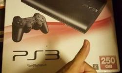 Selling my 10/10 condition ps3 slim 250gb console with