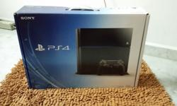 500 GB PS4 Condition : 10/10 Few months old URGENT