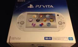 Selling rarely use PS VITA PCH 2006 with wifi Hi, I'm