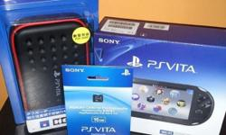 WTS 3 months old PS Vita PCH 2006 Black (slim) for