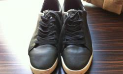MENS BLACK PUMA SHOES SIZE 40 USED ONCE WRONG SIZE