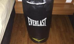 Punching bag Condition 8/10 1 month old 40 LBS