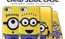[Q-commerce]�Authentic�Minions Card Slide Case/iPhone