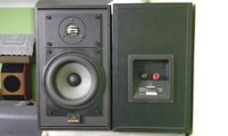 VERY GOOD CONDITION CELESTION BOOKSHELF SPEAKERS, MADE