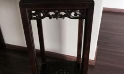 Quaity Teak Wood. Measurement 33x33cm. SMS 9180 5405