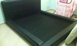 Japanese style queen bed frame at $250 Transport can be