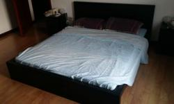 Includes mattress, slatted base and frame (items can