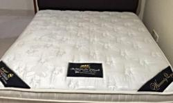 Selling Queen Size bed in guest room. Hardly used, very