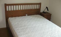 - Queen size Teak wood Bed Frame for Sale; - Very good