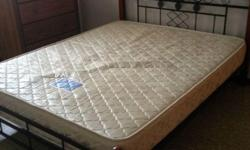 Queen size with Frame Good condition Self-Collect