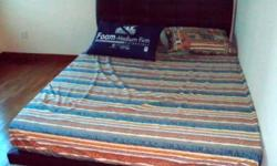 Queen SIze Bed with mattress (like new) $100