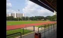 Behind the block are polyclinic & sports complex 5 min