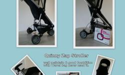 Well maintained & seldom used Quinny Zapp Stroller for