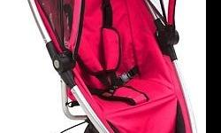 Pink Quinny Zapp stroller for sale. In excellent