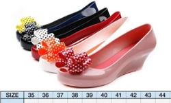 All items EX-STOCK - Jelly Flat Shoes ($12) / Wedges