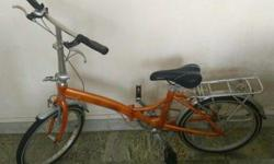 Very good condition Raleigh foldable bicycle with 7