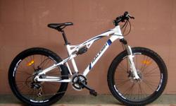 Nomad full suspension 21 speed Rapid fire shimano
