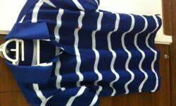 Brand new Ralph Lauren Polo t-shirt, blue and white