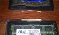 Selling DDR3 Sodimm Laptop 2gb 1333 mhz @ Bedok $22