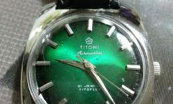 Made:Switzerland Brand: Titoni Model: Airmaster