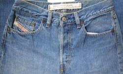 Rare Vintage Men DIESEL Industry Designer Couture Denim