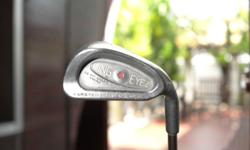 Rare Ping Eye 2 orange dot iron set for sale. Vintage