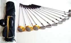 ~ ~~ RaRe TOM WALKER Golf Set with DunLop Bag OnLy $388