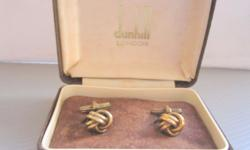 Luxury Dunhill Cuff Links for Men Designer Menswear