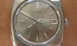 Rare Vintage Men SEIKO Designer Automatic Wrist Watch