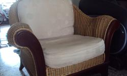 Rattan furniture set consist of : 2-seater sofa chair