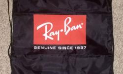 RayBan Lightweight Drawstring Foldable Backpack. Almost