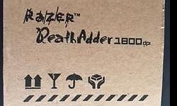 Razer DeathAdder Mouse for Sale Unused Self Collection
