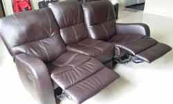 Recliner 3 seater sofa in excellent condition. No