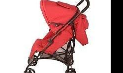 Red Baby Stroller - still good in condition - cash and