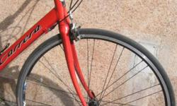 Want to ride a red bike this August ? 7005 aluminum