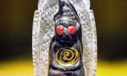 BESTTHAIAMULETS.COM Red Eye Phra Ngan Of Great Wealth